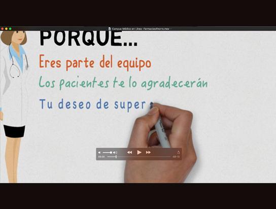 Videos motion draw